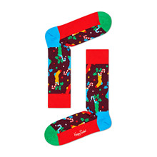 CHS01Happy Socks Christmas Stocking MULTI