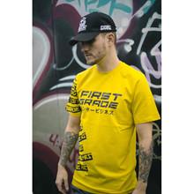 Firstgrade SK8 T-shirt GUL