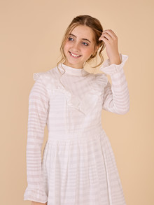 WM1073 White &  More Elina Dress HVID