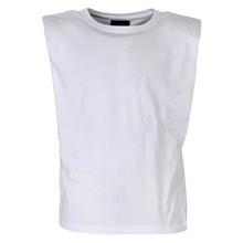 4512518 D-xel Sigge 518 T-shirt M. Skulderpude HVID