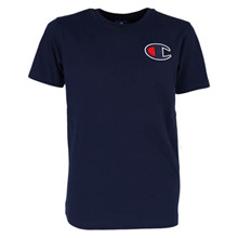 305580 Champion Logo T-shirt MARINE