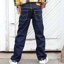 9ED516 Levis Loose Taper Jeans MARINE
