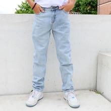 2134-103 Grunt Street Loose Jeans LYS BLÅ