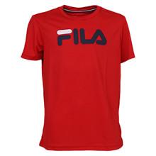 FJL131020 Fila Tennis Logo Tee RØD