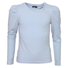 13189929 LMTD T-shirt med puff ærme LYS BLÅ
