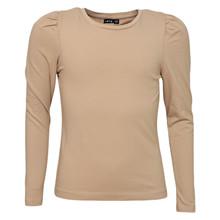 13189929 LMTD T-shirt med puff ærme SAND