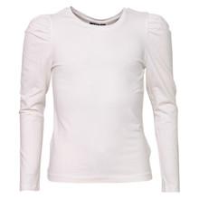 13189929 LMTD T-shirt med puff ærme Off white