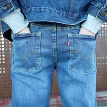 9E5502 Levis 502 Jeans BLÅ