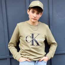 IU0IU00069 Calvin Klein Sweatshirt  ARMY