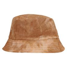 HT087 Højtryk Tie Dye Fløjls Hat SAND