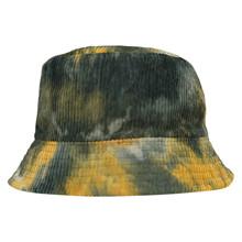 HT087 Højtryk Tie Dye Fløjls Hat GRØN