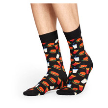 HAM01Happy Socks Hamburger Sock SORT