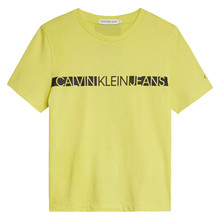 IB0IB00447 Calvin Klein T-shirt GUL
