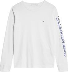 IB0IB00528 Calvin Klein T-shirt L/Æ HVID