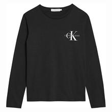 IB0IB00613 Calvin Klein T-shirt L/Æ SORT