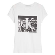 IG0IG00564 Calvin Klein T-shirt HVID