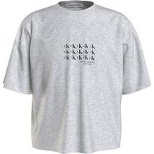 IG0IG01015 Calvin Klein Cropped T-shirt Off white