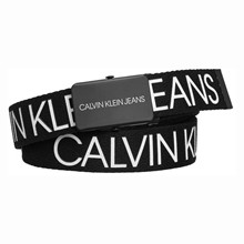 IU0IU00125 Calvin Klein Canvas Belt SORT