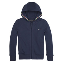 KB0KB05652 Tommy Hilfiger Zip sweat MARINE