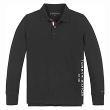 KB0KB06122 Tommy Hilfiger L/Æ Polo SORT