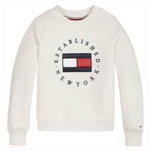 KG0KG05492 Tommy Hilfiger Sweatshirt Off white