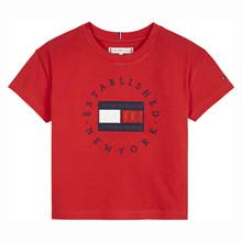 KG0KG05503 Tommy Hilfiger T-shirt RØD