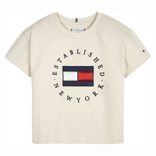 KG0KG05503 Tommy Hilfiger T-shirt Off white