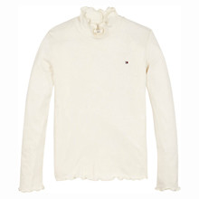 KG0KG05515 Tommy Hilfiger Rib Knit Off white