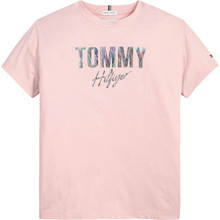 KG0KG05700 Tommy Hilfiger T-shirt LYS RØD