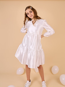 WM1046 White & More Lara Dress HVID
