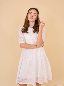 WM1068 White & More Miabella Dress HVID