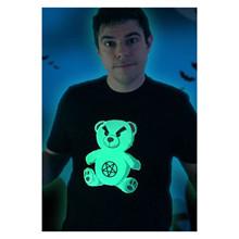 Niki Topgaard Glow Bear T-shirt SORT