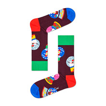 SAN01 Happy Socks Santa Sock RØD
