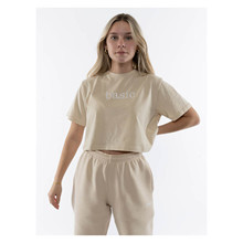 ONME Basic Cropped Top SAND