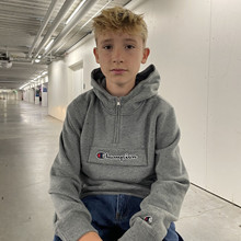 305768 Champion Half Zip sweatshirt GRÅ