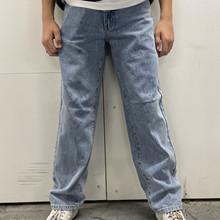 2214-106 Grunt Giant jeans Mellemblå
