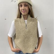 2143-804 Grunt Grete Knit Vest BRUN