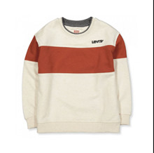 9ED555 Levis Sweatshirt Off white