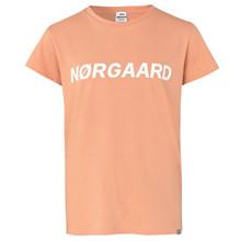 101765 Mads Nørgaard Tuvina T-shirt ORANGE