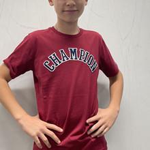 305776 Champion T-shirt BORDEAUX