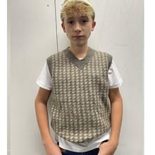 2144-800 Grunt Aid Knit Vest BRUN