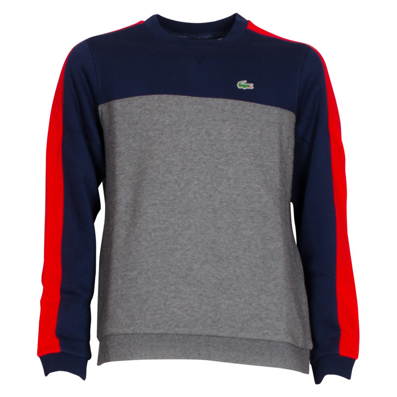 aaefcea63268 SJ6543 Lacoste Sweatshirt MULTI