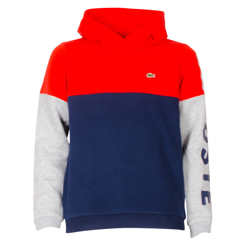 e8391dcba45 SJ3310 Lacoste Sweatshirt ORANGE