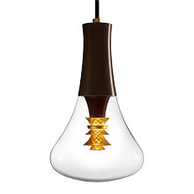 Plumen LED 003 & Pendant, E27, 2m stofledning