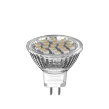 e3 21LED GU4/MR11 - 12V, 1.6W, RA60, 115° - 3000K