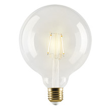 e3 LED Vintage, G125 Clear 1W 2 Filament  E27