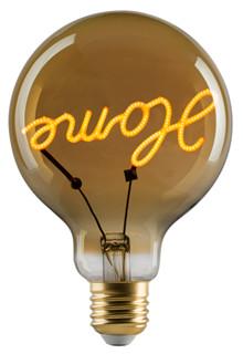 "e3 LED Vintage G95 ""Home"" E27 base up golden dimmable"
