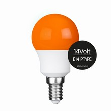 e3 LED P45B STD 0,3W 14V ORANGE E14