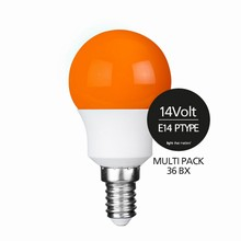 e3 LED P45B STD 0,3W 14V ORANGE E14 - 36BX