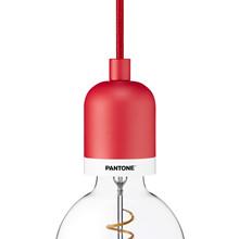 Pantone 001 Deneb E27 Pendel Rød